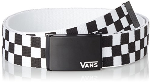 Vans mens MN DEPPSTER II WEB BELT VN-A31J1Y28 - Black/White
