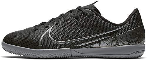 Nike Vapor 13 Academy Ic Fußballschuhe, Schwarz (Black/MTLC Cool Grey-Cool Grey 001), 30 EU