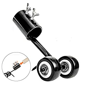 Cheerpet Stand Up Weeder Weed Puller Manual Weeds Snatcher Crack and Crevice Weeding Tool Garden Tools for Patio Backyard (Straight Hook)
