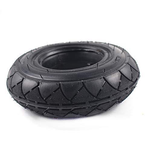 Neumáticos para scooter movilidad, 1 pieza, 200 x 50, neumático sólido sin cámara, compatible con Razor E100 E150 E175 E200, scooter eléctrico, bicicleta ePunk, compatible con Smart Self 2 ruedas