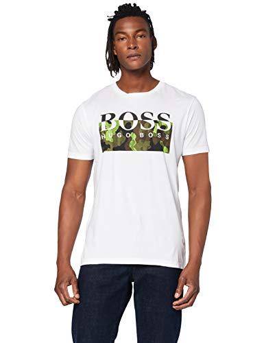 BOSS Herren Thady 1 T Shirt, Natural (102), XXL EU