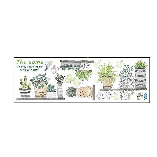 THESHYER Pegatinas pequeñas con motivos de cactus de estilo fresco adecuadas para la decoración de tiendas de cocina caseras, etc. (Mulitcolor)