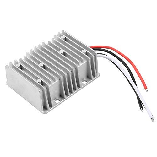 Convertidor de corriente para automóvil, 48V a 12V 360W, Dc-Dc Impermeable Step-Down 30A, Convertidor Buck para automóvil, Regulador de voltaje CC Fuente de alimentación, para acampar al aire
