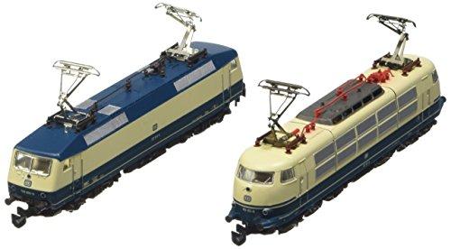 Märklin 88179 - Doppelpackung Elektrolokomotiven BR 120.1 und BR 103. Spur Z