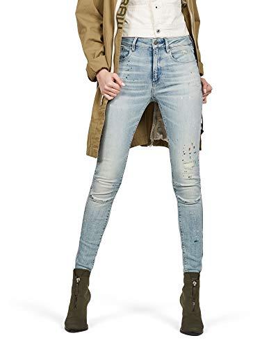 G-STAR RAW Women's Biwes High Waist Skinny Jeans - Blue - W25