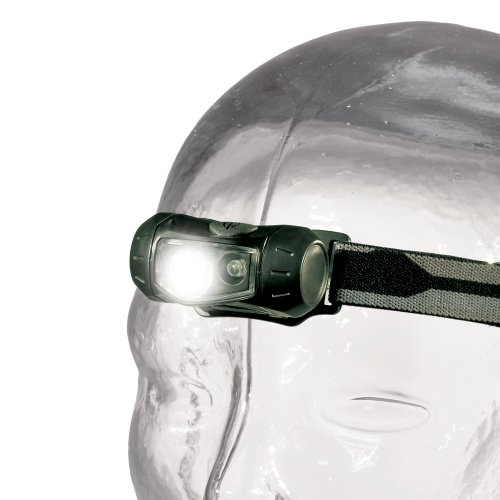 Ring Cyba-Lite Lampe frontale 2 LED Noir