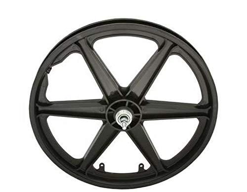 "Lowrider Bicycle 20"" Rear Wheel Freewheel MAG Plastic 6-Spoke Beach Cruiser BMX"