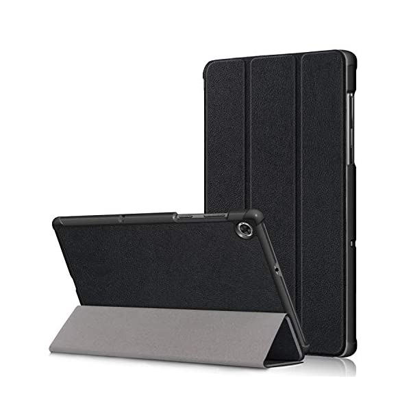 "KuRoKo Slim Light Cover Trifold Stand Hard Shell Case for Lenovo Tab M10 FHD Plus TB-X606F / TB-X606X 10.3"" FHD Tablet"
