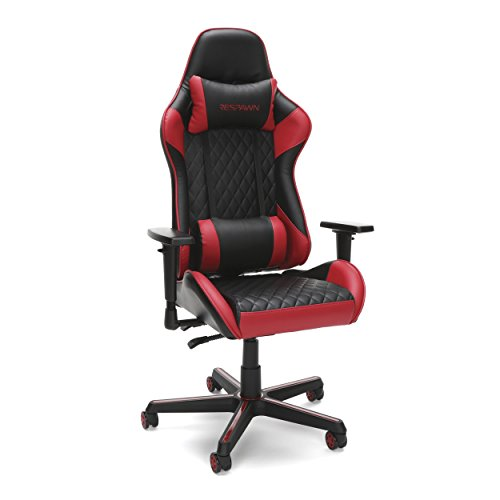 RESPAWN 100 Racing Style Gaming Chair, in Red