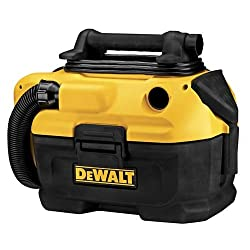 Runner Up for Best Commercial Wet Vac: DEWALT Cordless Wet-Dry Commercial Vacuum