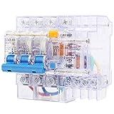 Shexton Disyuntor Transparente, disyuntor en Miniatura, Fuga, Equipo Industrial...