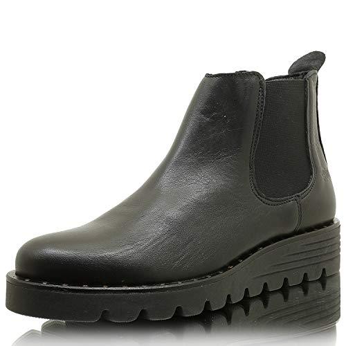 SHOOT SHW2189002 Damen Chelsea Boots Ankle Boots Stiefelette Black Gr. 36