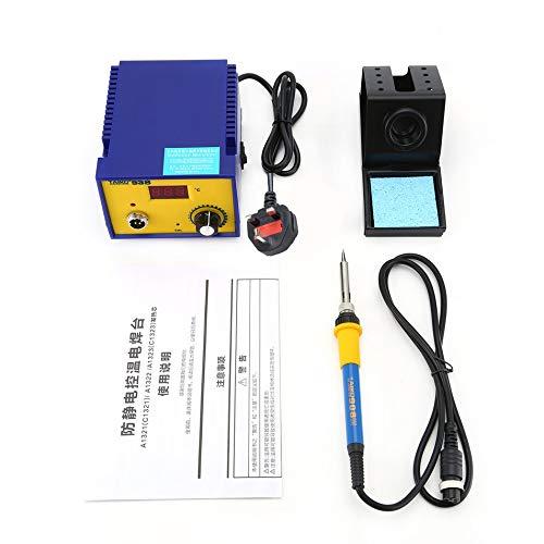 Silverdrew 938 LED Pantalla Digital Estación de Soldadura sin Plomo 70W Soldador eléctrico Temperatura Constante Soldadura antiestática