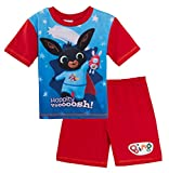 Bing Bunny - Pijama corto para niños azul, rojo 24 meses