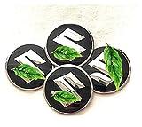 RVTYR Cubierta del Cubo de levitación magnética, for Suzuki, tapacubos de la Rueda Central Flotante Luz Led Luminoso del Logotipo de Eje del Centro Casquillos de 54 mm, 4pcs / Set tapacubos
