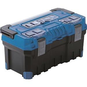 Prosper Plast NTP22A Titan Plus Caja de Herramientas, 55,4 x 28,6 x 27,6 cm, Multicolor, 55.4x28.6x27.6 cm