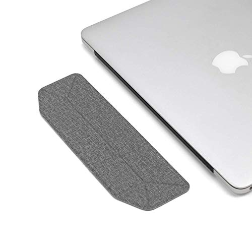 Laptop Stand | Lightweight, Portable, Foldable, Invisible, Ergonomic Laptop Computer Stand | for MacBook, Air, Pro, iPad, Tablet, Surface (Grey)