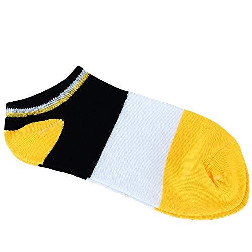 Alikeey Herensokken, katoen, ademend, korte sokken voor loafers, boots schoenen, ballerina, sneakers, 87 paar