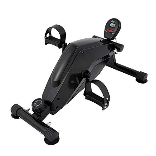RUIVE Pedales Estático Portátil Mini Bicicleta Estática Pedales Aparato De Ejercicios En Casa 8 Velocidades, Entrenamiento De Brazos Y Piernas para El Hogar, Oficina, Gimnasio