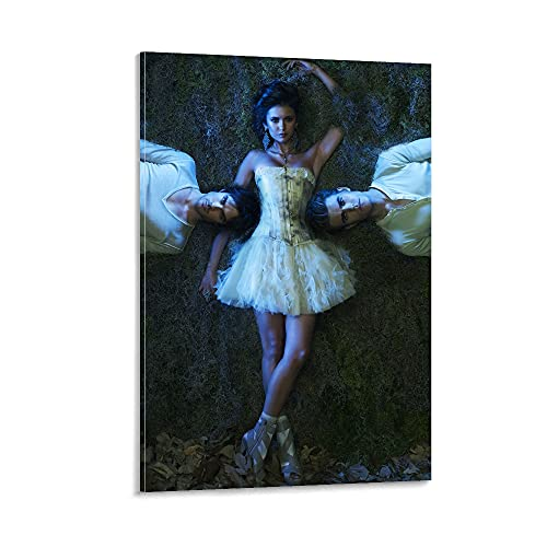SJHAD Póster de la serie de televisión The Vampire Diaries Poster decorativo dormitorio pintura colgar cuadros lienzo arte de pared Living Modern Posters para habitación estética 30 x 45 cm