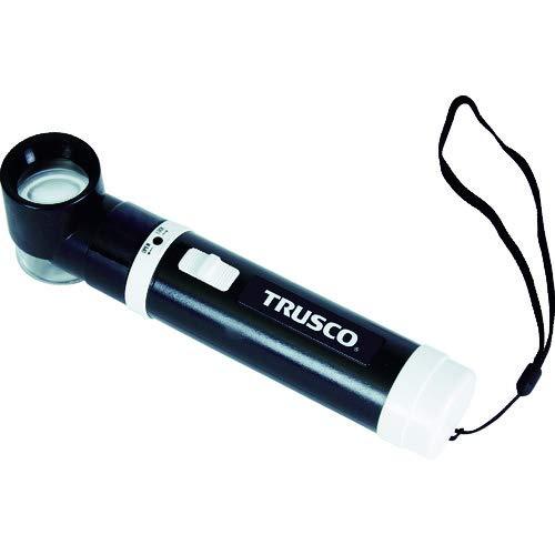 TRUSCO(トラスコ) LED付きスケールルーペ 10倍 TL10KLED