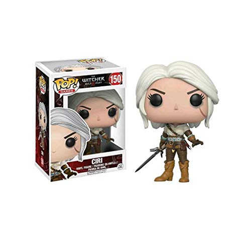 YYBB Juegos Pop: La Figura de acción de Witcher-Ciri Exclusivo Figura Coleccionable, Multicolor Figurines