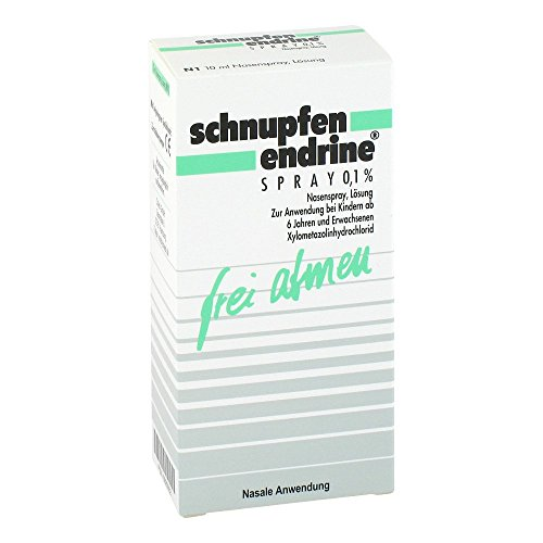 Schnupfen Endrine 0,1{7d7dcdf348c4998dbcf2aca41ed9e0eaa37295990c2599252aeb6876acc20a12} Nasenspray