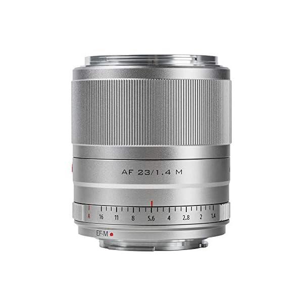 RetinaPix Viltrox 23mm F1.4 STM Autofocus Large Aperture APS-C Lens Compatible with Canon EOS-M Mount M10 M100 M3 M5 M50 M6 M60 II