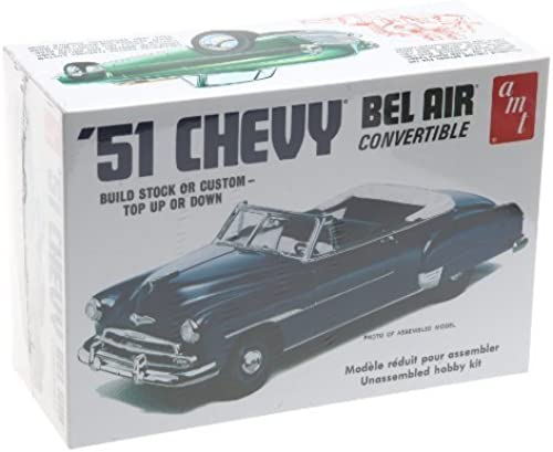 1 25 '51 Chevy ConGrünible by AMT (English Manual)