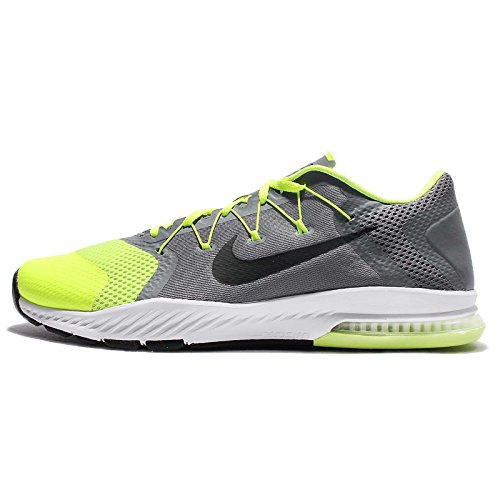 Nike Air Zoom Train Complete Mens Running Trainers 882119 Sneakers Shoes (UK 9 US 10 EU 44, Cool Grey Black White Volt 007)