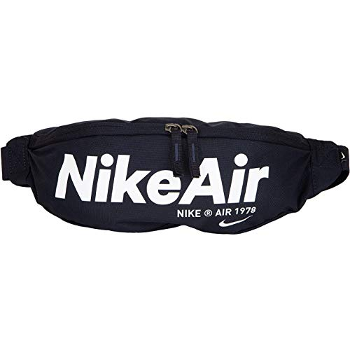 Nike Air Heritage 2.0 Hip Bag Gürteltasche (Obsidian, one Size)
