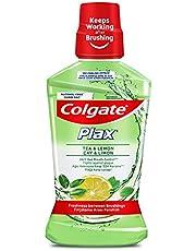 Colgate Plax Çay & Limon Alkolsüz Gargara 500 ml 1 Paket (1 x 500 ml)