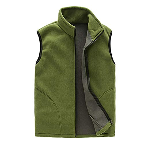 Heren Winter Fleece Vest Man Dikke Warm Taillejas Bovenkleding Casual Thermal Soft Vesten
