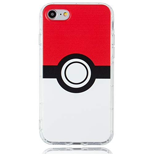 BRILA iPhone 7 iPhone 8 iPhone SE 2020 case, Ball Pattern case for iPhone 7 4.7', iPhone 8 4.7', iPhone SE 2 Cute Phone case