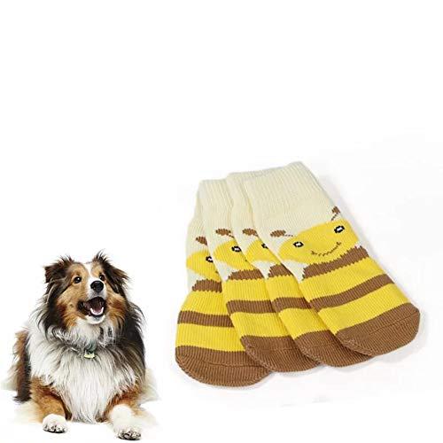 Meioro Calcetines Antideslizantes para Perros, Protectores