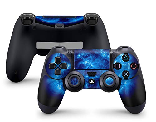 Skins4u Controller Aufkleber Design Schutzfolie Skin kompatibel mit Sony Playstation 4 PS4 Big Blue Giant