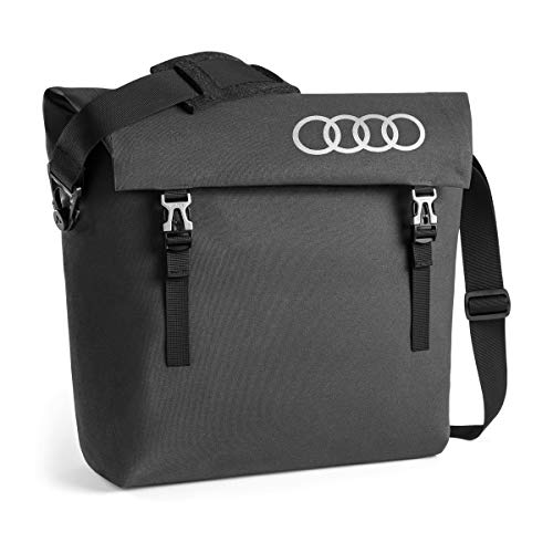 Audi collection 3152000300 Audi Messenger Bag, Dunkelgrau
