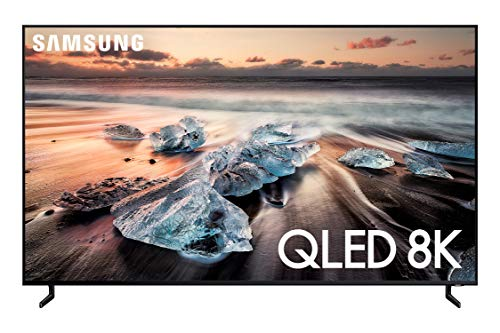 Samsung QN65Q900RBFXZA Flat 65-Inch QLED 8K Q900 Series Ultra HD Smart TV with HDR and Alexa Compatibility (2019 Model), Black