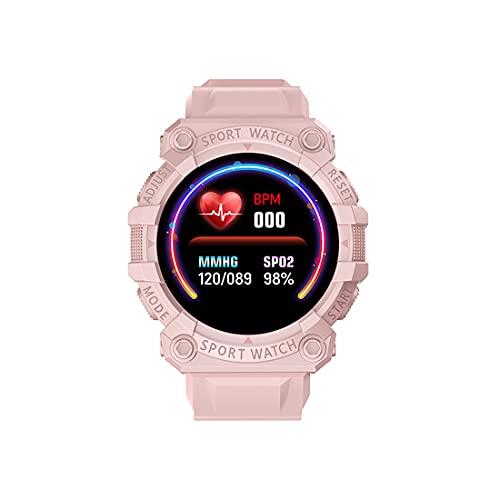 FENGCHUANG Reloj deportivo digital para hombre, reloj inteligente impermeable, monitor de fitness de pantalla HD 1.44 con tiempo de espera extra largo