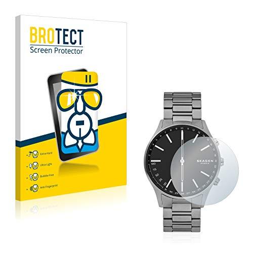 BROTECT Panzerglas Schutzfolie kompatibel mit Skagen Hybrid Smartwatch Holst - AirGlass, extrem Kratzfest, Anti-Fingerprint, Ultra-transparent