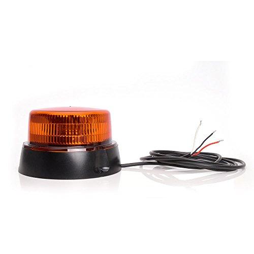 LED-MARTIN R65 zwaailicht plat - geel - 3 punten - extreem helder - 2 jaar garantie