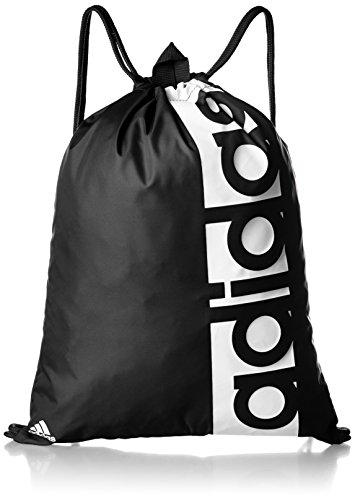 adidas Lin per GB Sac de Sport Mixte Adulte, Noir (Negro/Blanco/Blanco), 25 Centimeters