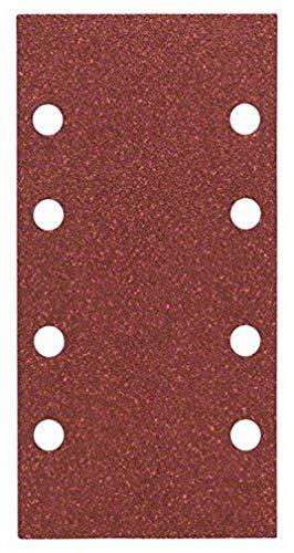Bosch Professional Schleifblatt Expert for Wood and Paint Holz und Farbe für Schwingschleifer (10 Stück, Körnung 80, C430)