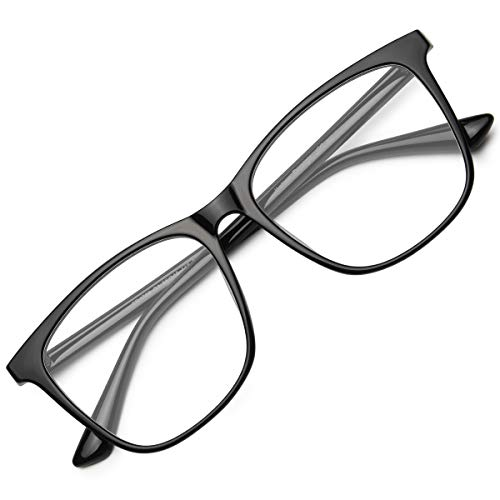 Livhò Occhiali luce blu per uomo donna | pc computer occhiali da vista con filtro anti UV LI1786