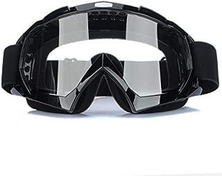 Super Motorcycle Bike ATV Motocross Ski Snowboard Off-road Goggles FITS OVER RX GLASSES Eye Lens