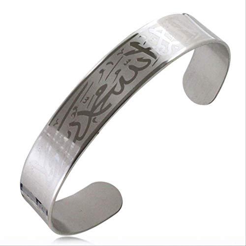 Muslim Allah Edelstahl Shahada Armband Für Frauen \U0026 Männer Schmuck, Islamischer Koran Geschenk Arabische Kunst Armreif