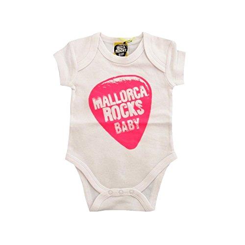 Mallorca Rocks: Grenouillère Bébé Plectre - Fuschia, 18 mois