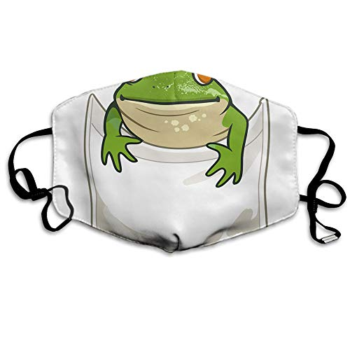 """Makala-Maske mit Tiermotiv, lustiges Zitat """"Adopt me"""" mit Cartoon, niedliche Hunde/Katzen in der Tasche, waschbar und wiederverwendbar, für Radfahren, Camping, Outdoor"""