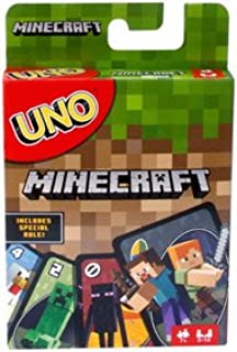 UNO Minecraft Card Game UNOミニクラフトカードゲーム英語版 [並行輸入品]