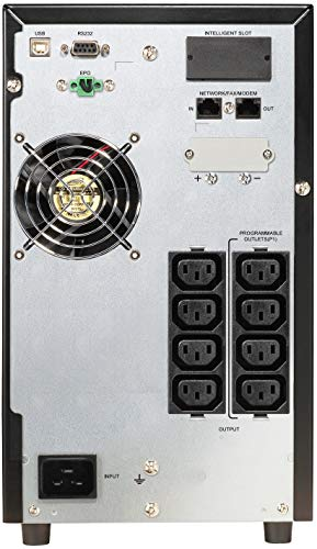 POWERWALKER VFI 2000 CG PF1 2000VA / 2000W Online USV Tower Doppelwandler SNMP Slot Leistungsfaktor Eins